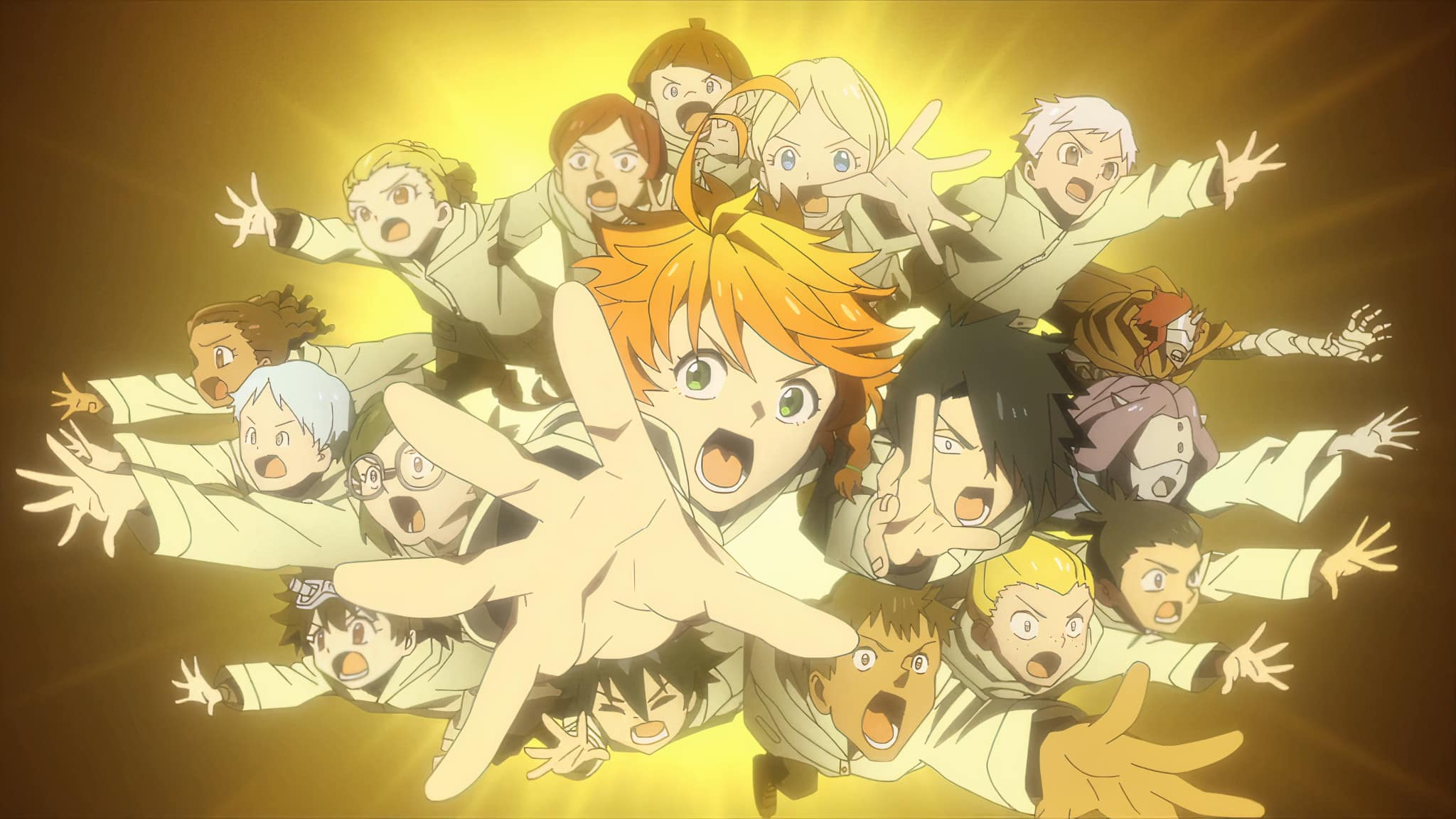 Annonce de The Promised Neverland Saison 2 en opening