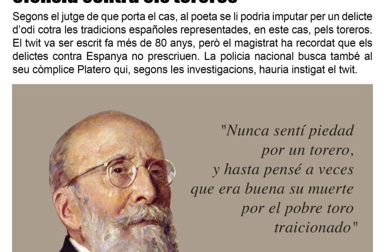 L'Audiència Nacional ordrena la detenció de Juan Ramón Jiménez …