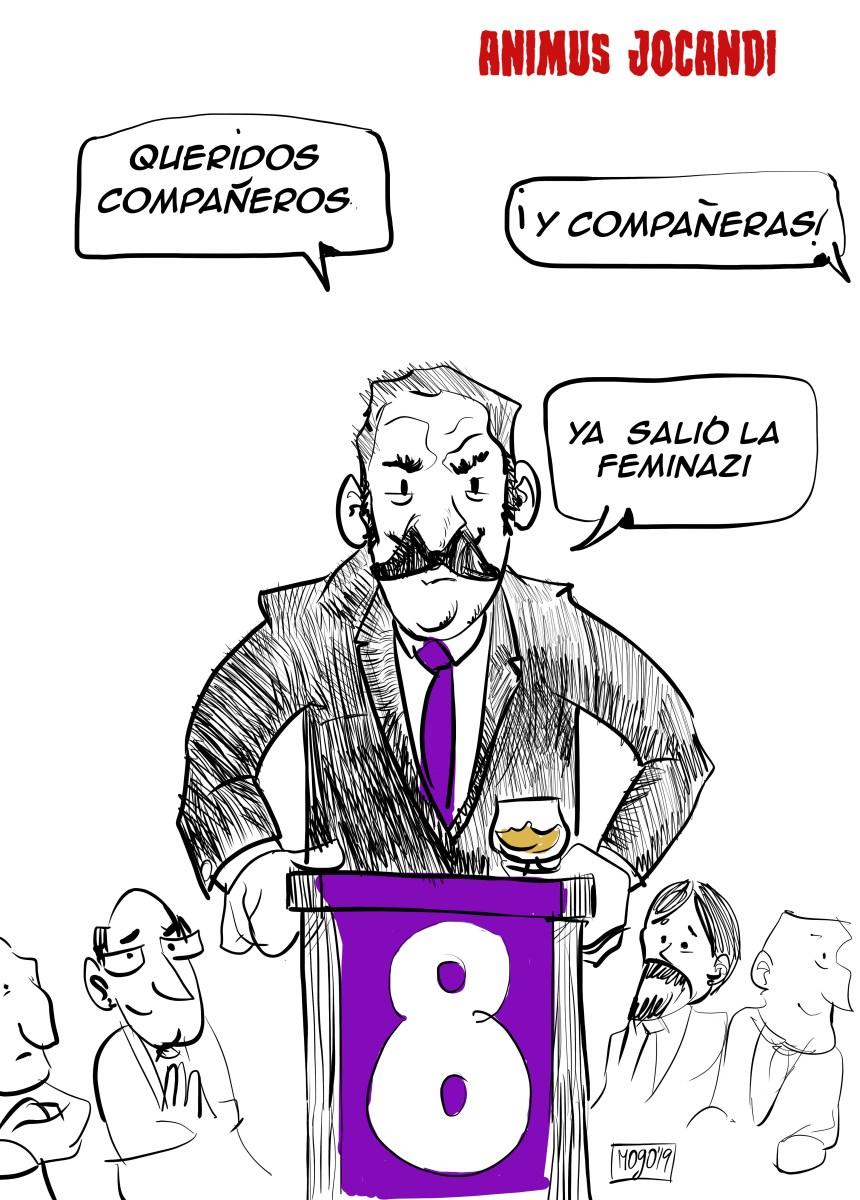 La ASOCIACIÓN NACIONAL DE SEÑOROS aprueba el 8 de Marzo