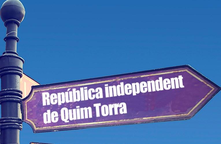 Puigdemont se monta un partido al grito de «un català, una República»