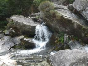 verzasca waterfall