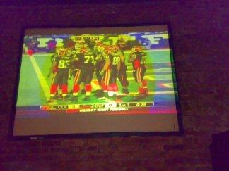 American Football Projecter Screen Bar