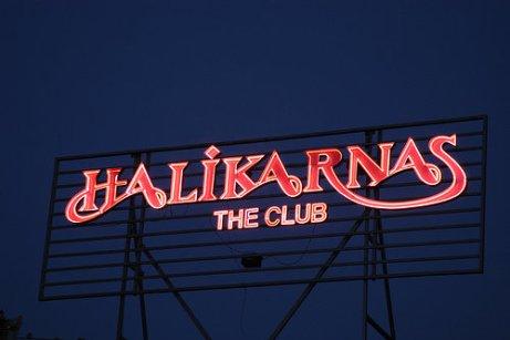 Bodrum Halkikarnas Sign