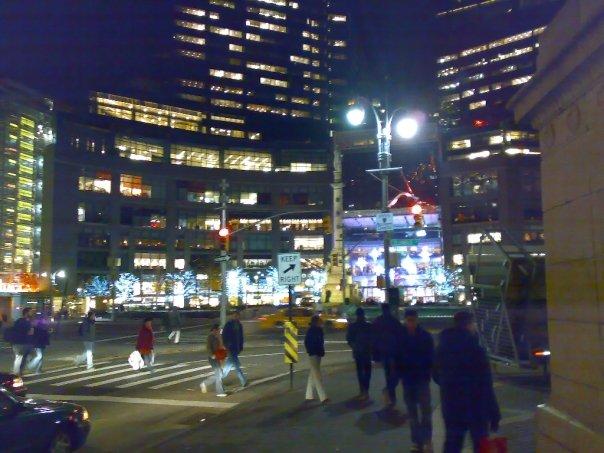 New York Streets Nights
