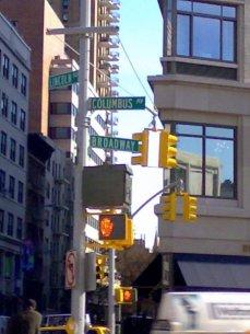 Broadway StretSign NY