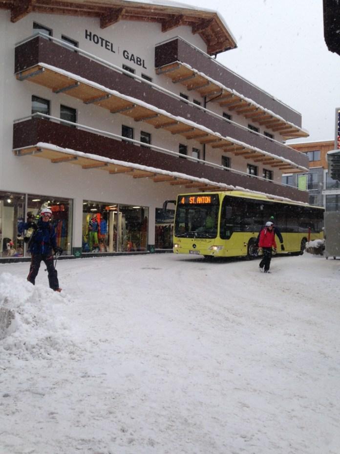 St.Anton Ski Bus