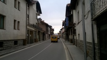Street Bansko Bulgaria