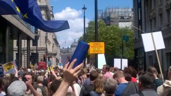Demonstration EU London