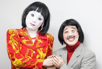 日本エレキテル連合 細貝&朱美ちゃんが「クレしん」と共演