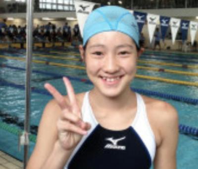 酒井夏海(競泳)20年ぶりの中学生オリンピック代表!身長と性格は両親譲り?