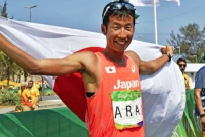 荒井広宙は日本競歩界初のオリンピックメダリスト!妨害失格から一転!