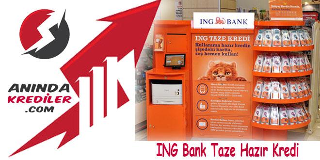 ING Bank Taze Kredi