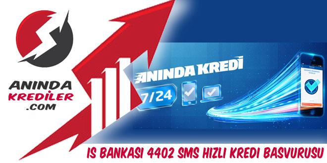 İş Bankası 4402 Sms Hızlı Kredi Başvurusu