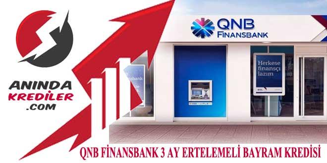 qnb finansbank bayram kredisi
