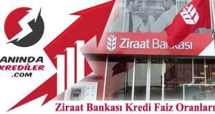 Ziraat Bankası Kredi Faiz Oranları 2018