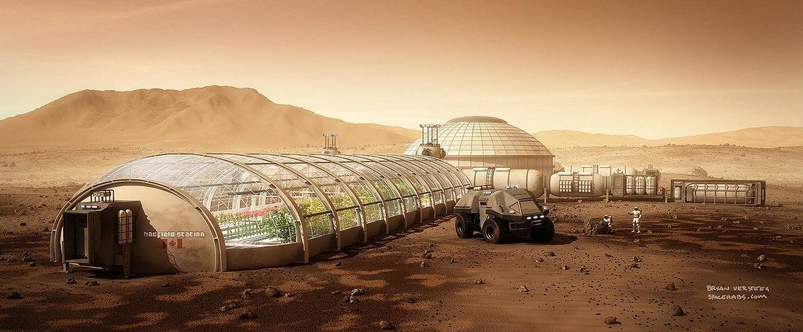 The Challenges of Building a Colony on Mars  Mental Floss