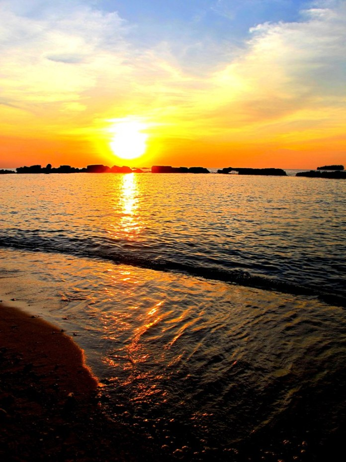 """""""What is love? It is the morning and the evening star"""". Sinclair Lewis. (Bulat Island, Kepulauan Seribu)"""