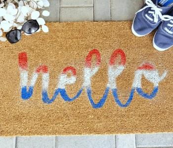 [2020] How to Make a DIY Doormat