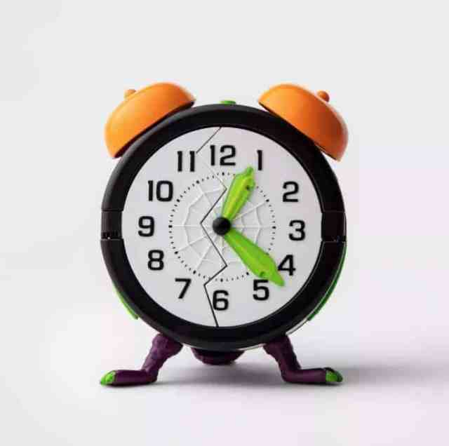 Animated Monster Alarm Clock Halloween Décor