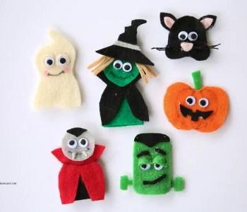 [2020] Halloween Finger Puppets