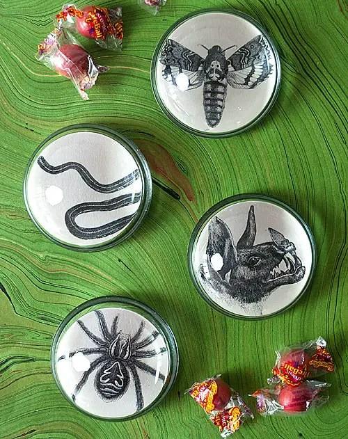 Create Better Creepy Halloween Ornaments
