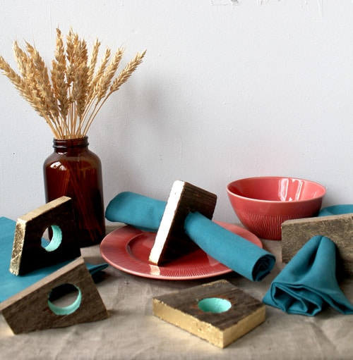 DIY Project in 2020: Scrap Wood Part I – Napkin Rings