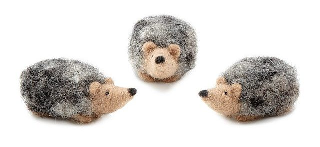 Easy DIY Gifts 2019: Hedgehog Needle Felting Kit 2020