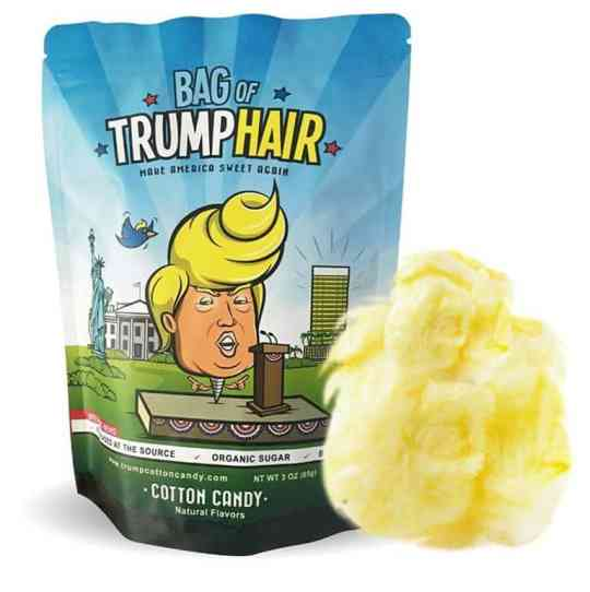 Best White Elephant Gifts 2019: Trump Hair Cotton Candy 2020
