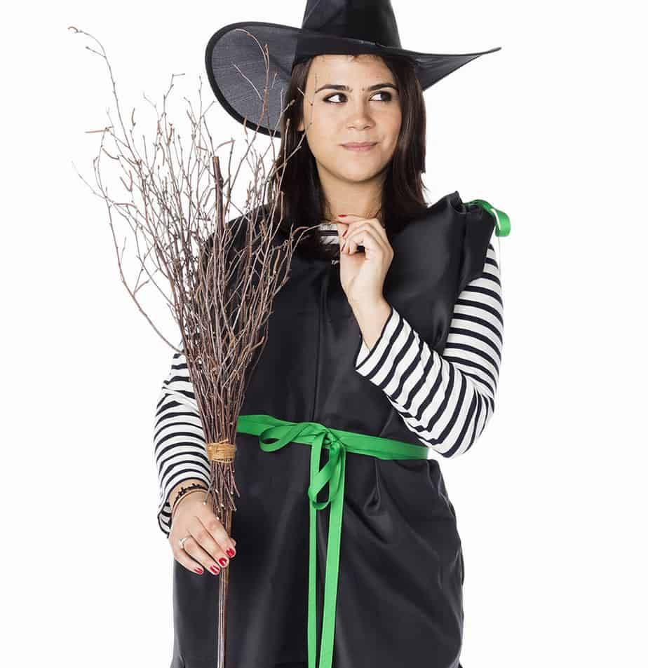 How To Create a Witch Broom for Less Than $5
