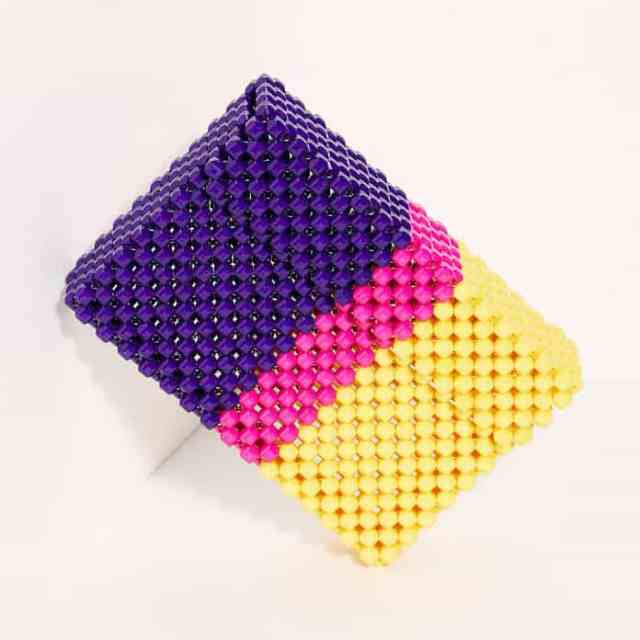 Sweet Shirley Beaded Clutch