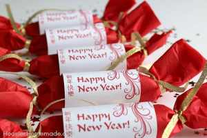 Celebrate the Chinese New Year with Party Favors Wrapping