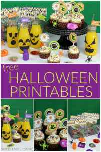 Halloween Printables for a Party