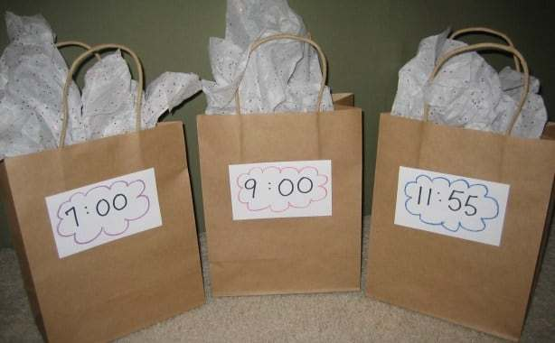 Real Simple DIY New Year's Eve Countdown Bags