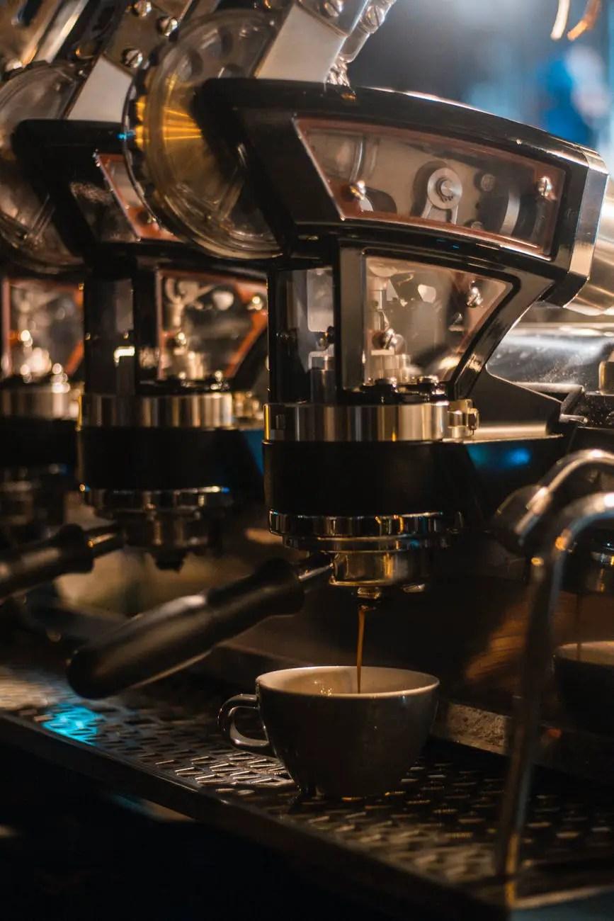 photo of coffee machine