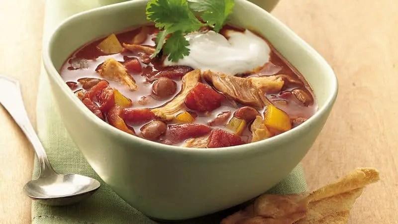 Enchilada Chili | Recipe Of Chicken Enchilada Chili I