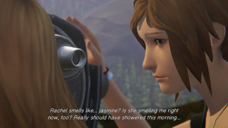 Rachel smells like jasmine
