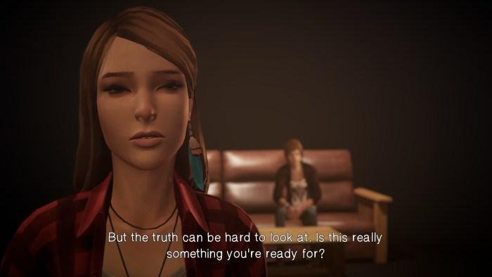 Rachel learns the truth