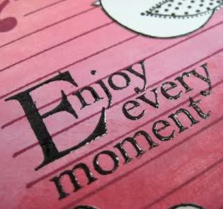 My New Mantra…Enjoy Almost Every Moment