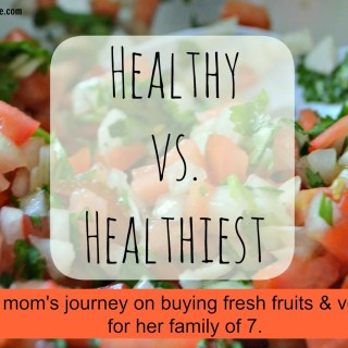 Healthy vs. Healthiest