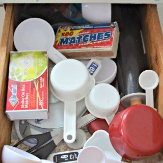 Organizing Measuring Cups & Spoons