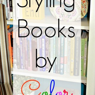 Styling Books by Color