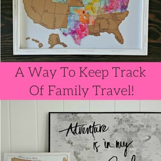 A Way To Keep Track Of Family Travel