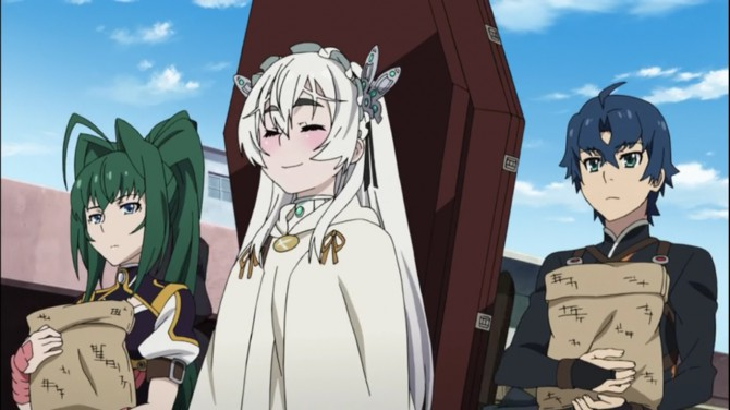 Chaika, the Coffin Princess-review