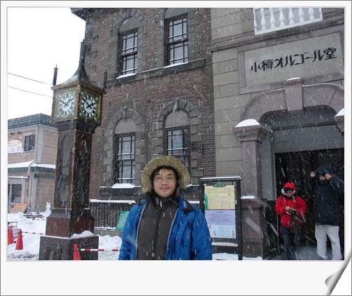 95.1.19 北海道冰凍餵豬泡湯之旅(14)–匆匆逛小樽T_T @愛吃鬼芸芸