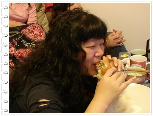 96.03.17 創意料理之蕙芸員外Bagel+驚爆拖鞋揍人黑青樂Party @愛吃鬼芸芸
