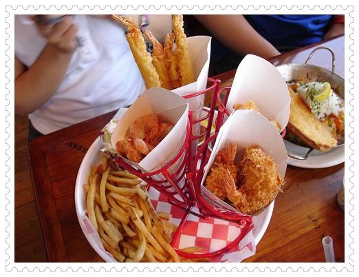 96.06.15 阿甘正傳拍攝場景-Bubba gump shrimp