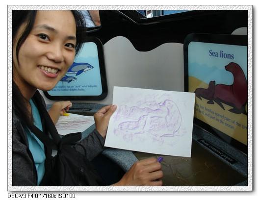96.07.07Monterey Aquarium+17 Miles一日遊(中)