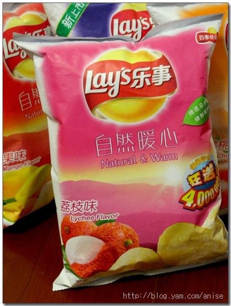 各種怪口味的樂事洋芋片(From 上海) @愛吃鬼芸芸
