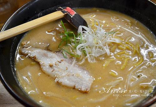 札幌美食.らーめん信玄味噌拉麵@2014北海道自助旅行