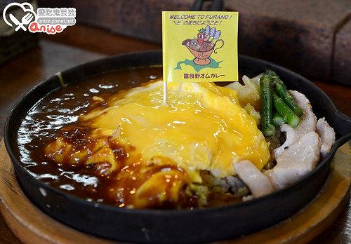 富良野美食.まさ屋咖哩蛋包飯@2014北海道自助旅行